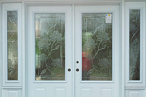 Decorative Entrance Door Glass ...